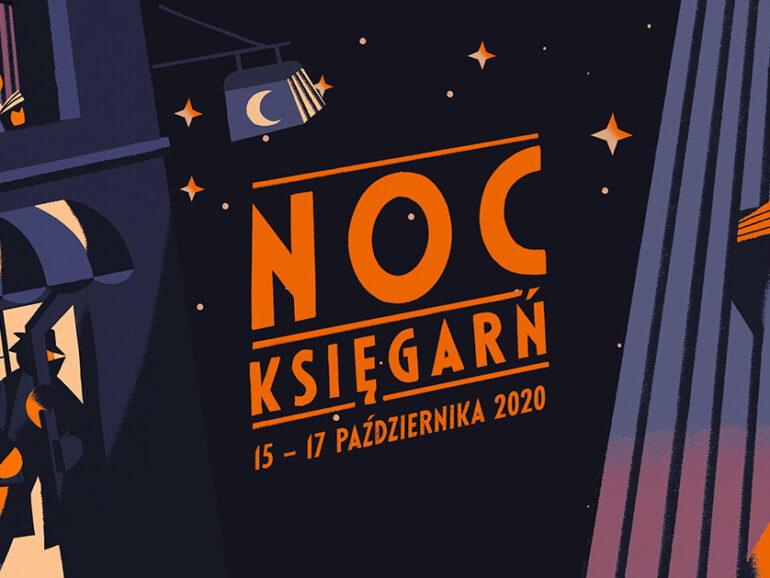 Noc Księgarń 2020. Do zobaczenia online!