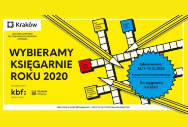 """Noc Księgarń partnerem plebiscytu """"Wybieramy Księgarnie Roku 2020"""""""