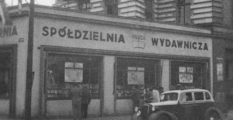 1948. Księgarnia Spółdzielni Wydawniczej